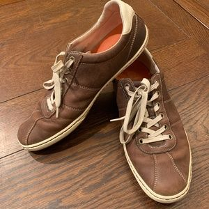 Cole Haan Leather Sneakers (W/ Nike Air)